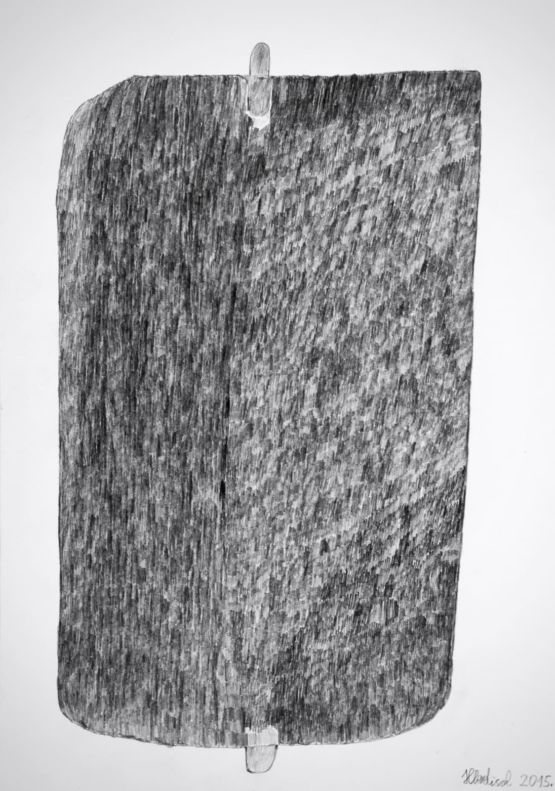 Thermophore, 2015 Graphite on paper 16.5 x 11.7 in. (42 x 29.7 cm.) (HH 16) $4,000