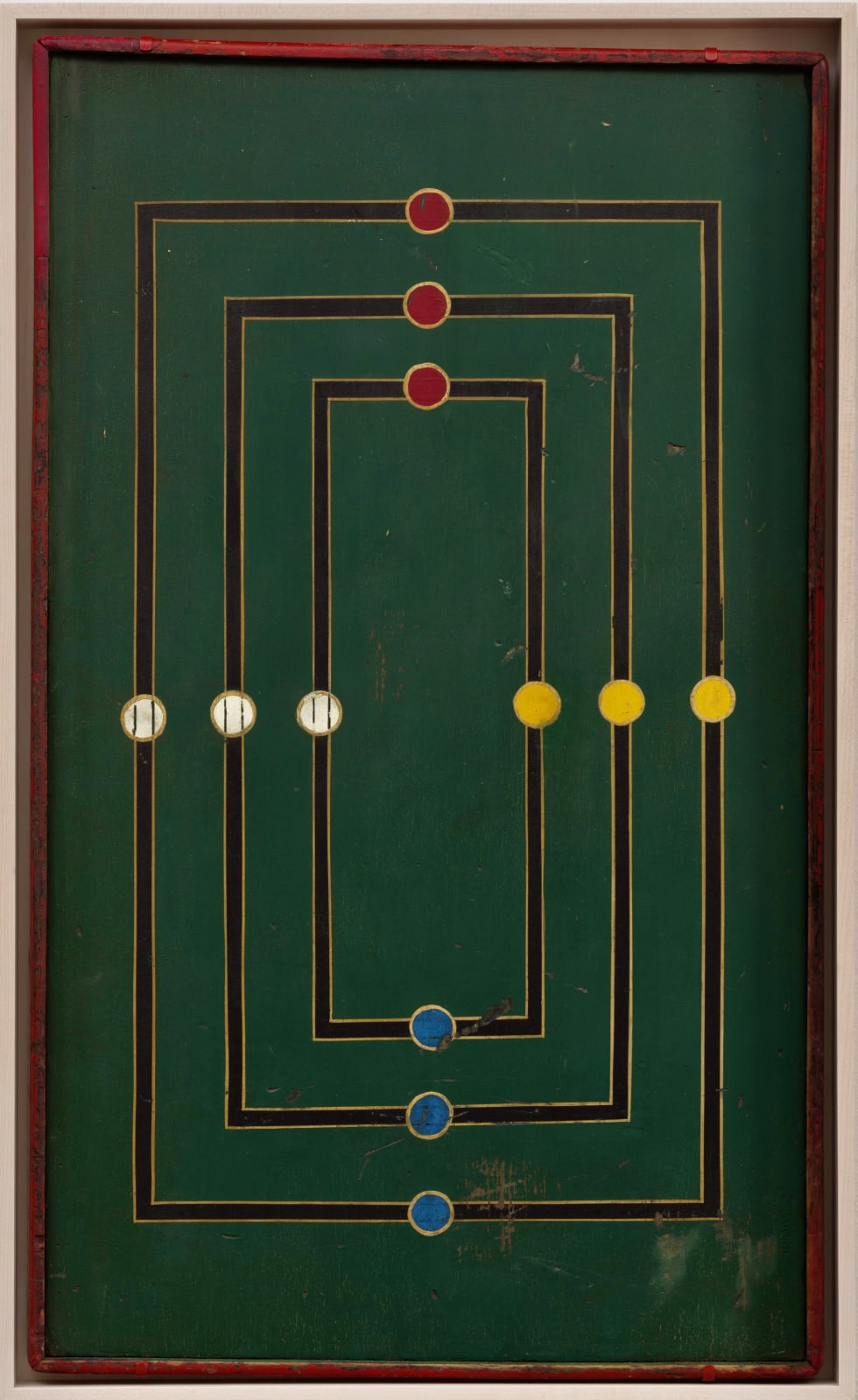 MILLS GAME BOARD, C. 1930-40 Paint on wood panel 29 x 17 in. 73.7 x 43.2 cm. (AU 300)