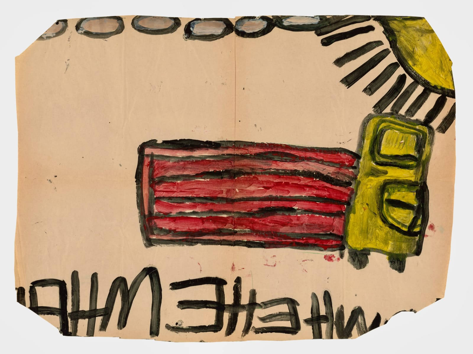Untitled, 1972-1980 Tempera on paper 21 x 28.5 in (53.3 x 72.4 cm) (LM 410)
