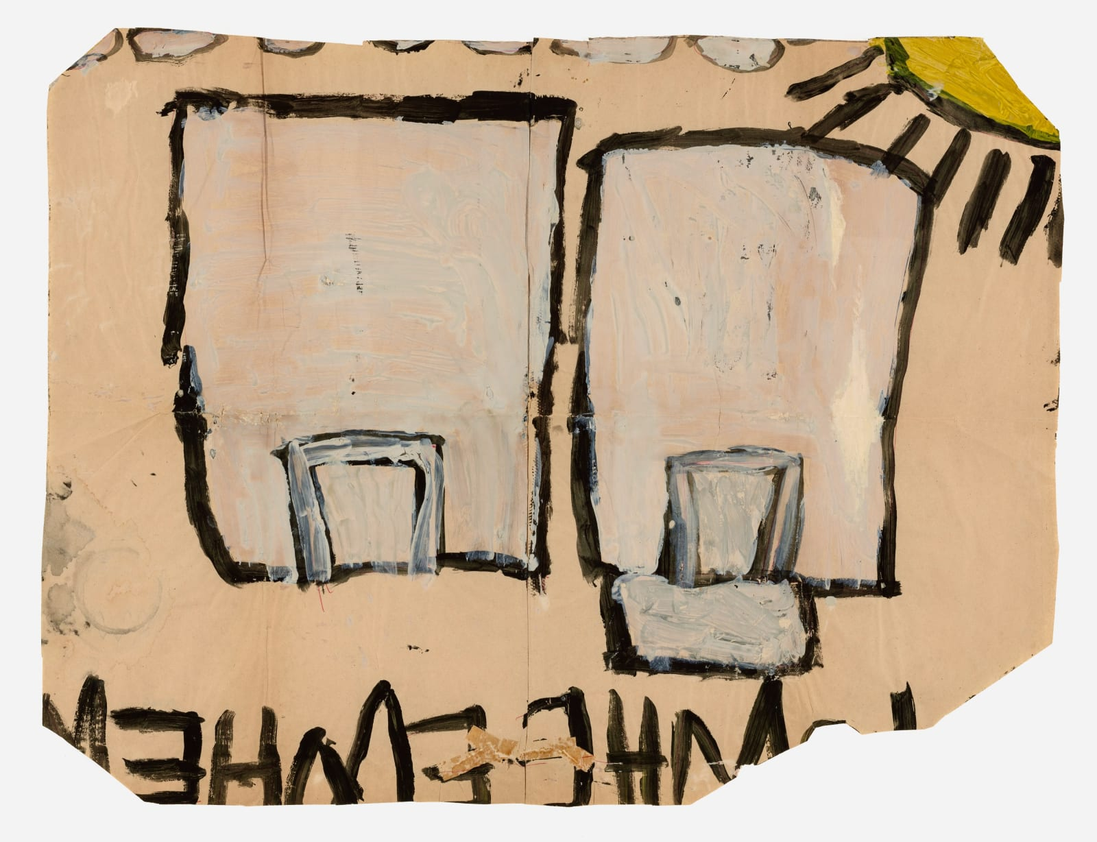 Untitled (No.14), 1972-1980 Tempera on paper 21 x 28 in (53.3 x 71.1 cm) (LM 125)
