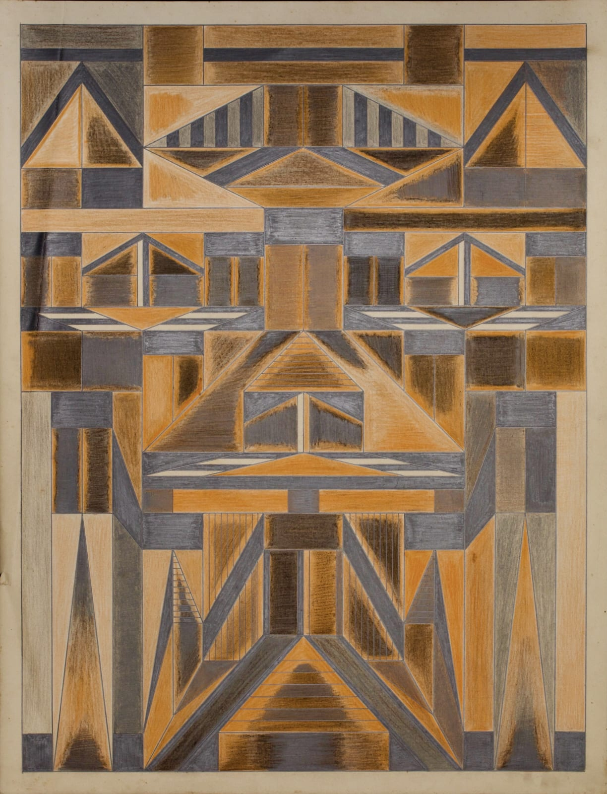 Untitled, ca. 1930 - 55 Colored pencil and graphite on paper 21 x 17 1/2 in. 53.3 x 44.5 cm. (DG 42)