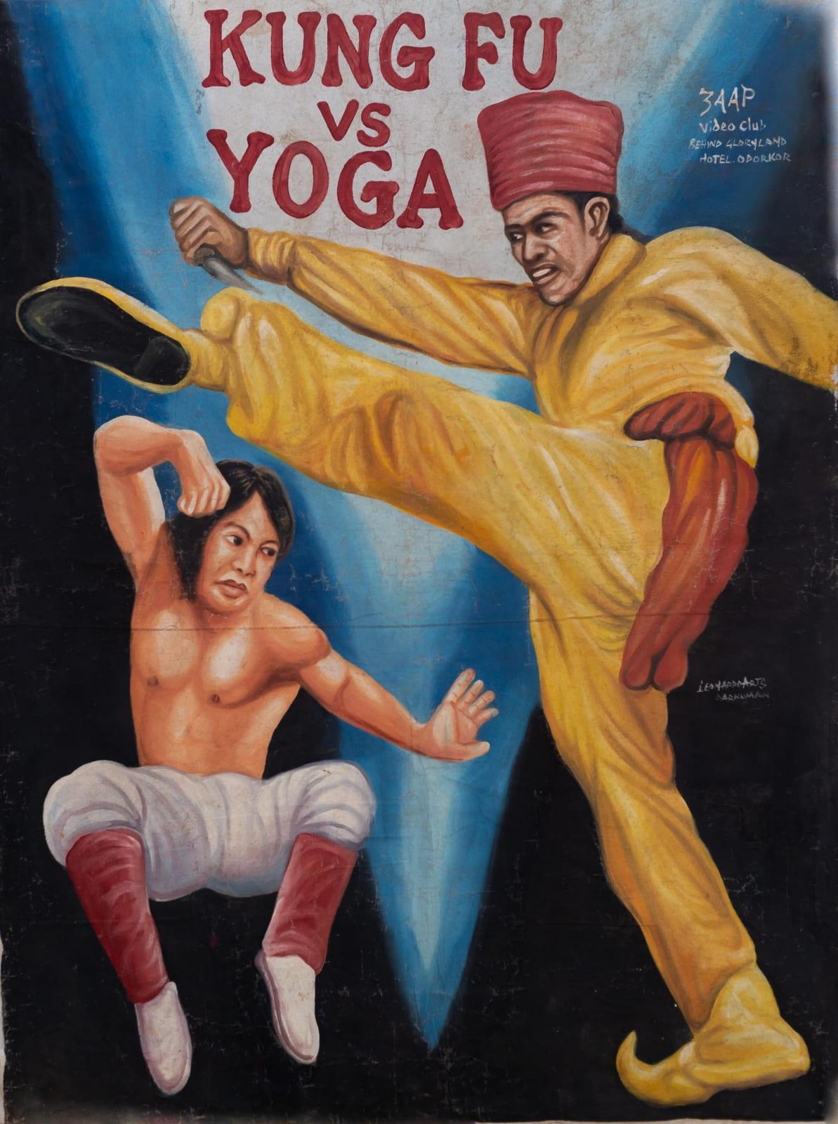 Kung Fu vs Yoga 150 x 113 cm