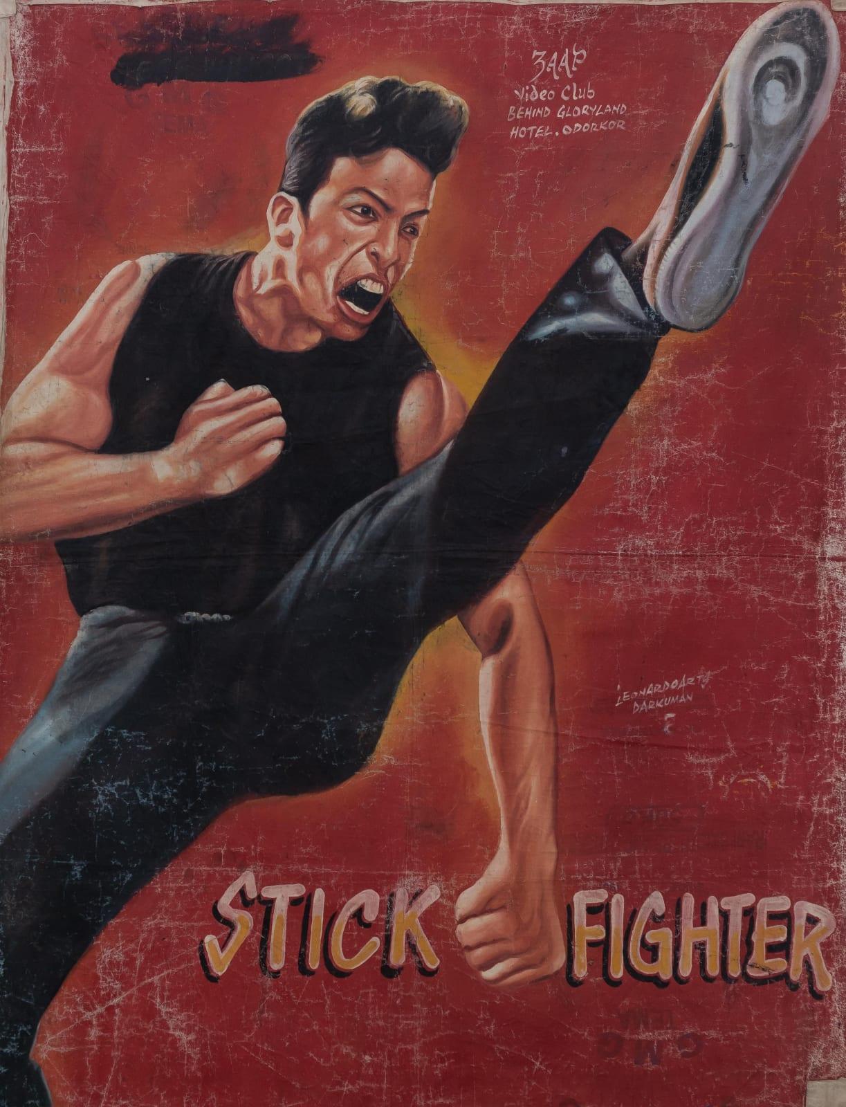 Stick Fighter 147 x 114 cm