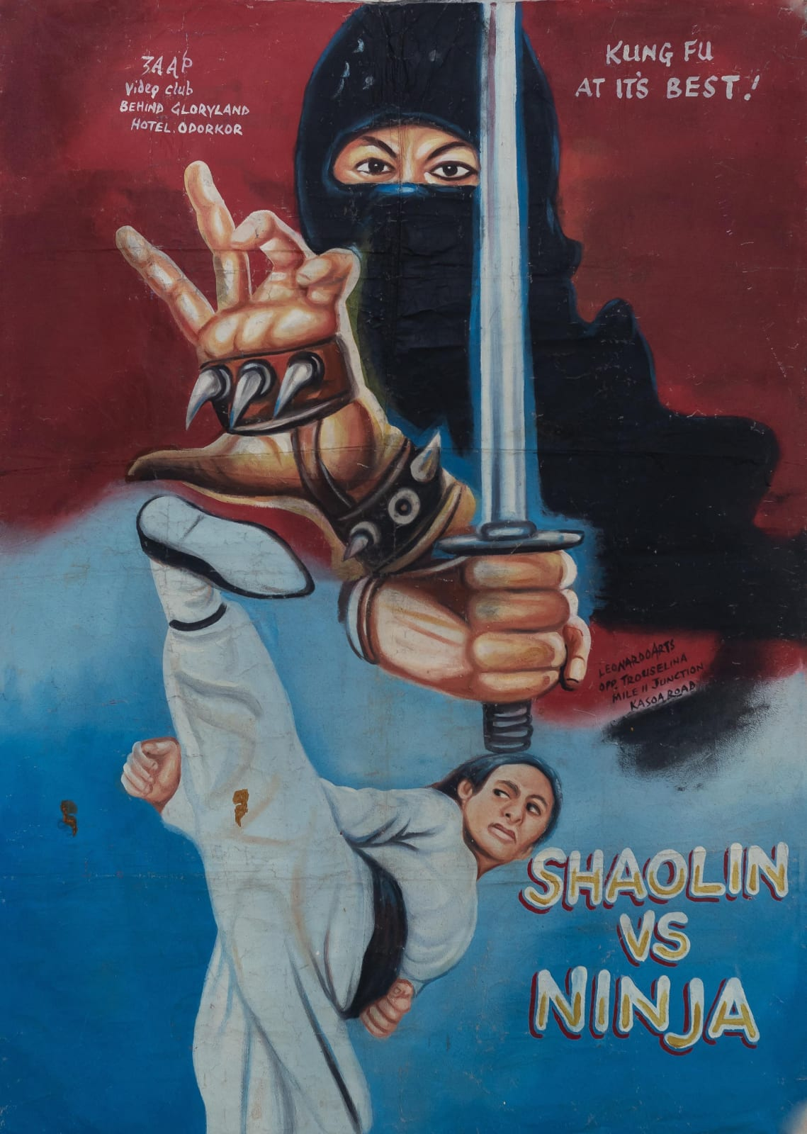 Shaolin vs Ninja 150 x 106 cm