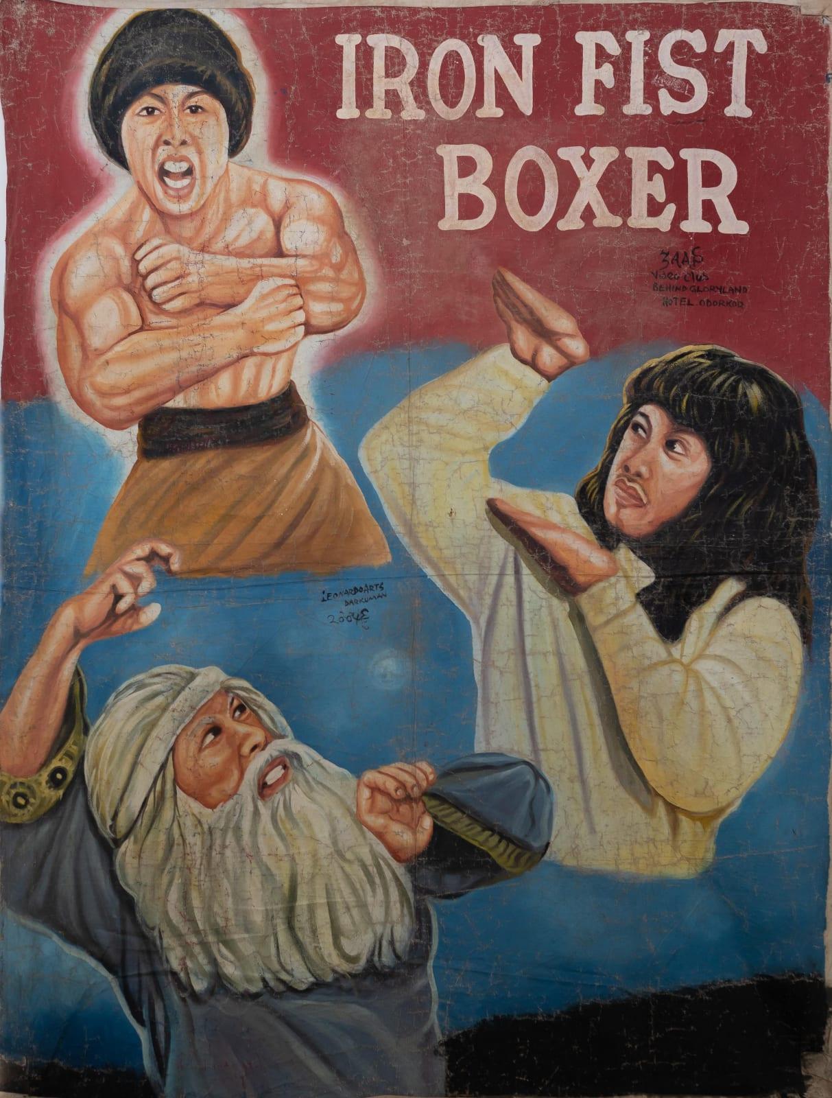 Iron Fist Boxer 156 x 116 cm