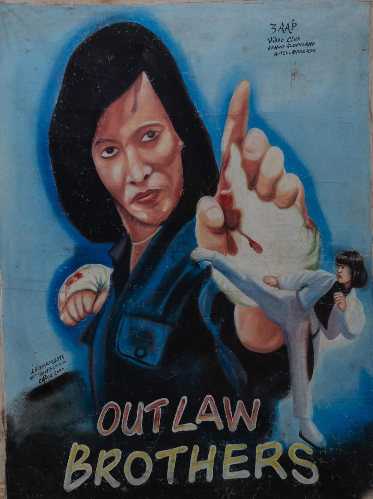 Outlaw Brothers 142 x 106 cm