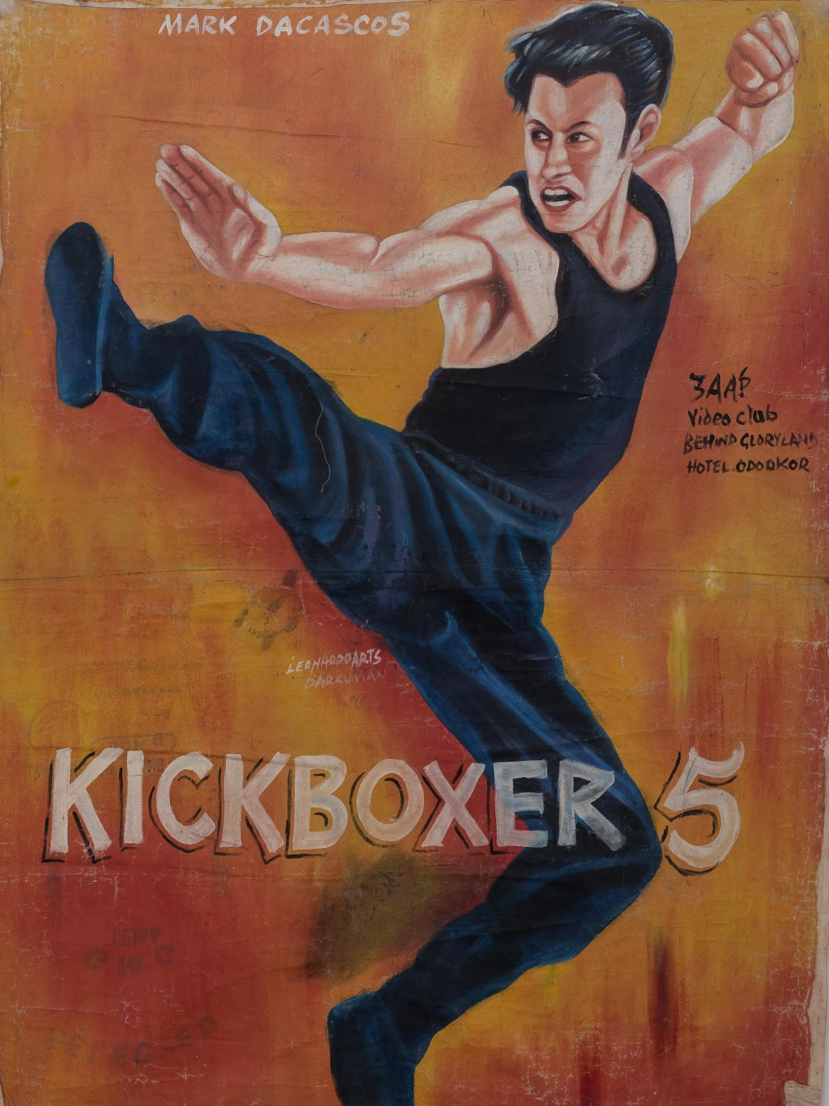 Kickboxer 5 158 x 115 cm