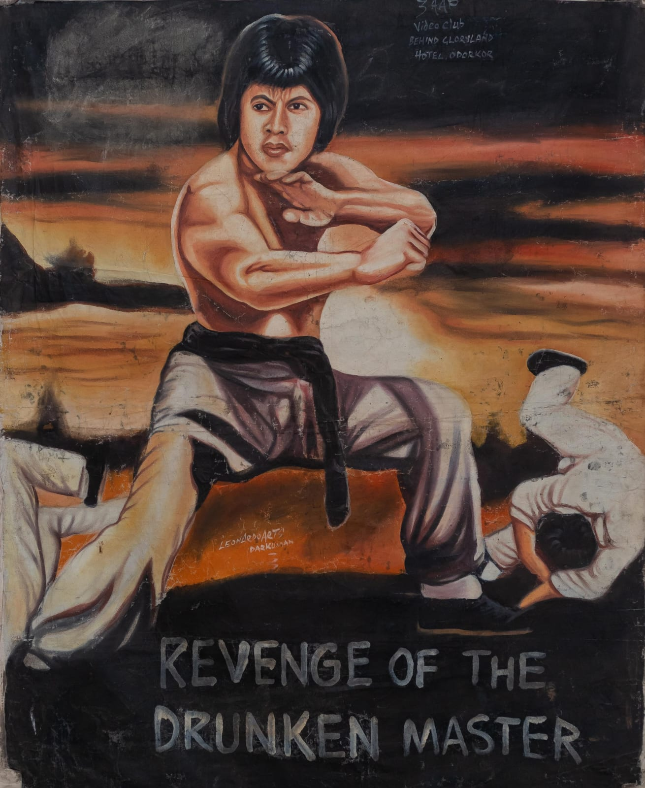 Revenge of the Drunken Master 145 x 115 cm