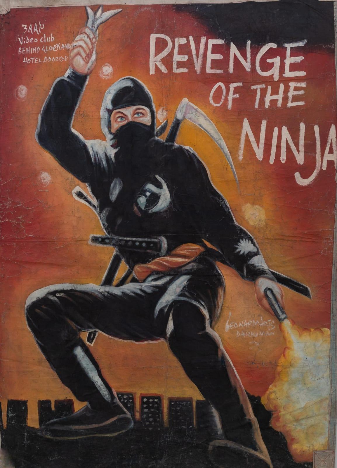 Revenge of the Ninja 145 x 107 cm