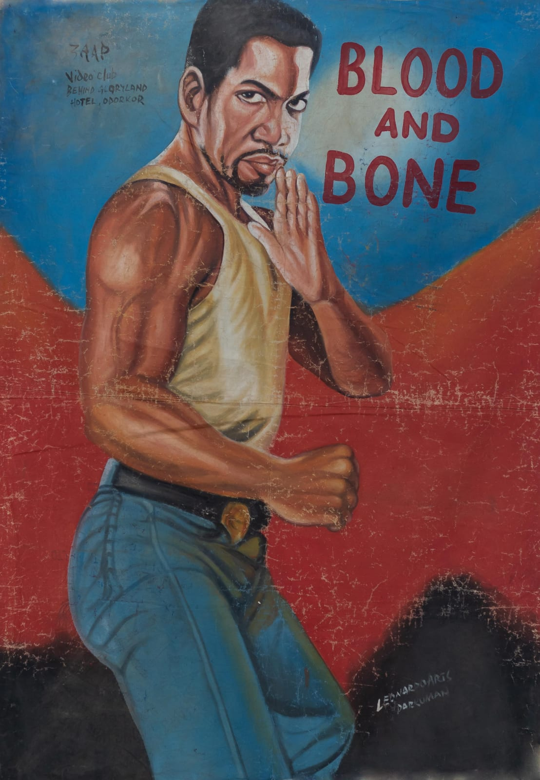 Blood and Bone 151 x 104 cm