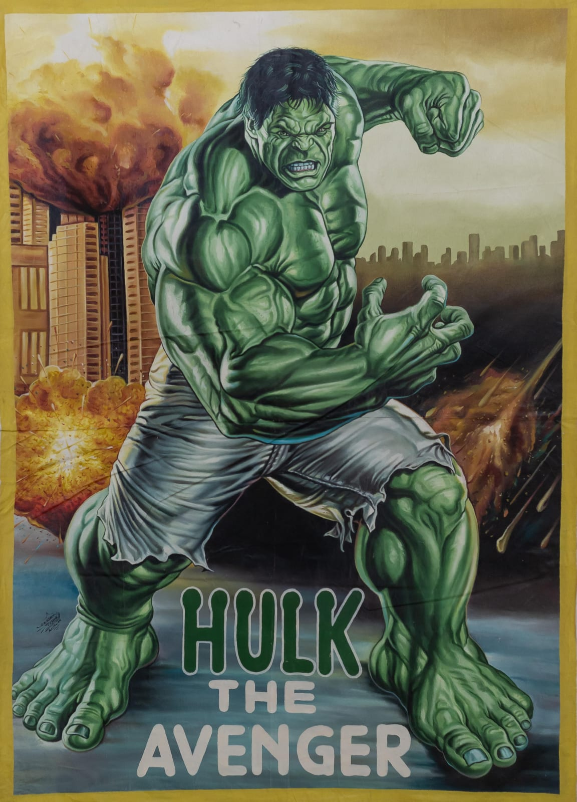 Hulk The Avenger 149.5 x 108 cm