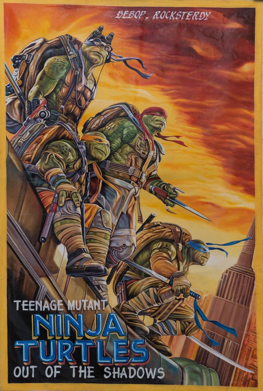 Teenage Mutant Ninja Turtles Out of the Shadows 151 x 101 cm