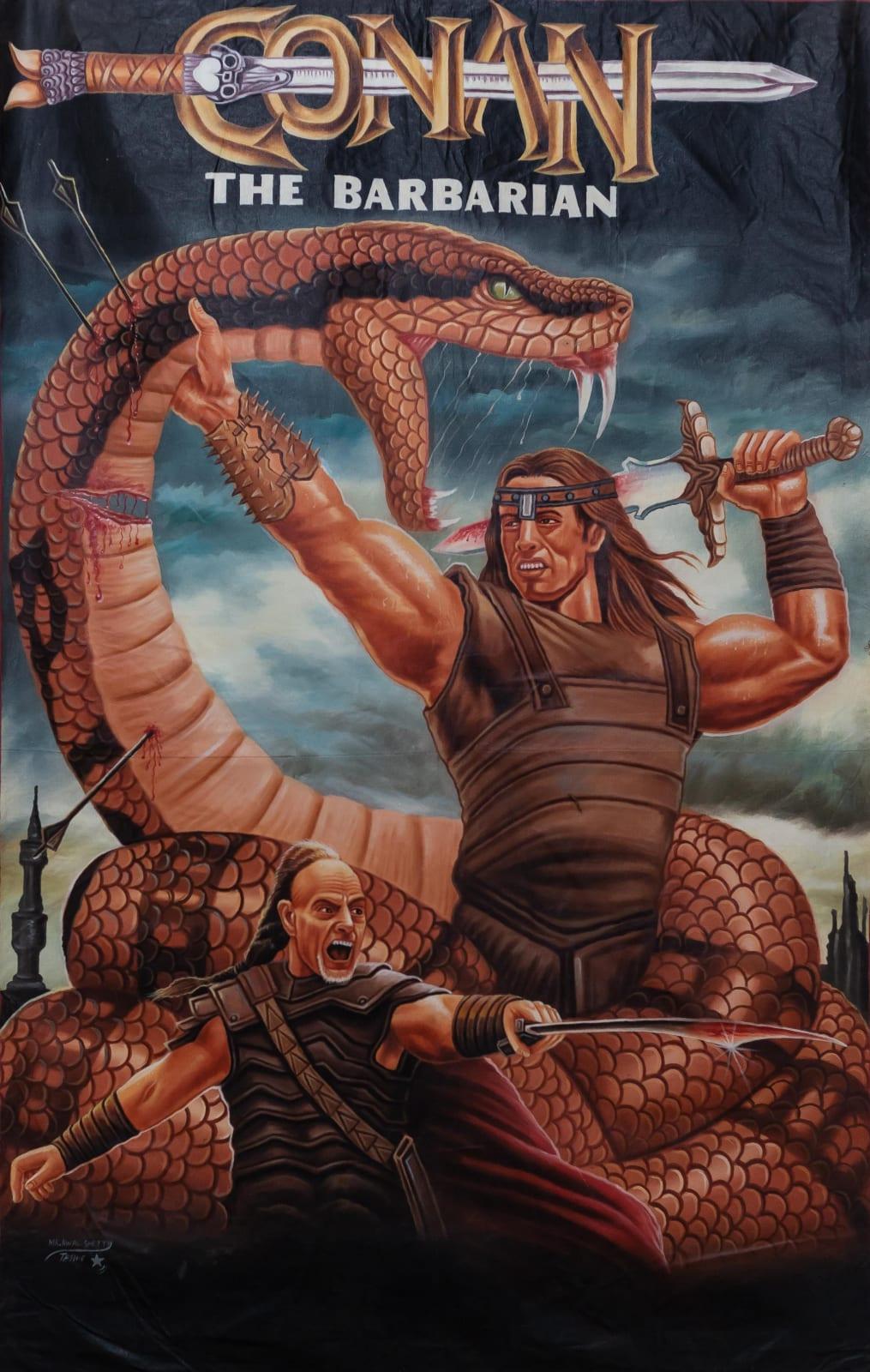 Conan the Barbarian 157 x 102 cm