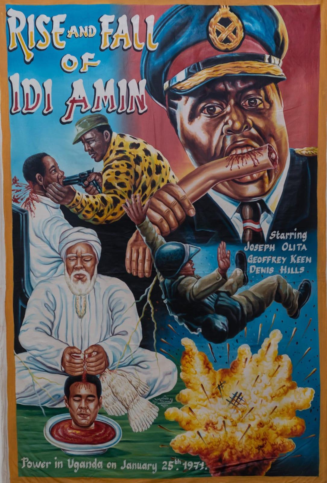 Rise and Fall of Idi Amin 156 x 106 cm