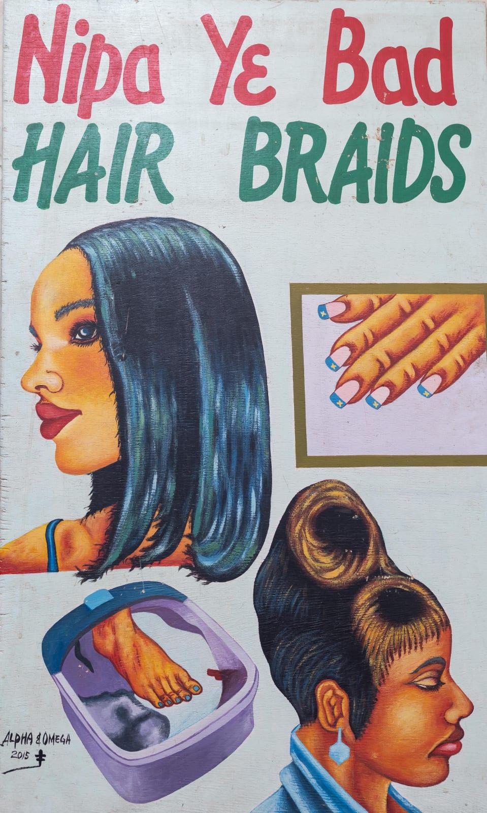 Nipa Y3 Bad Hair Braids 101 x 61.5 cm
