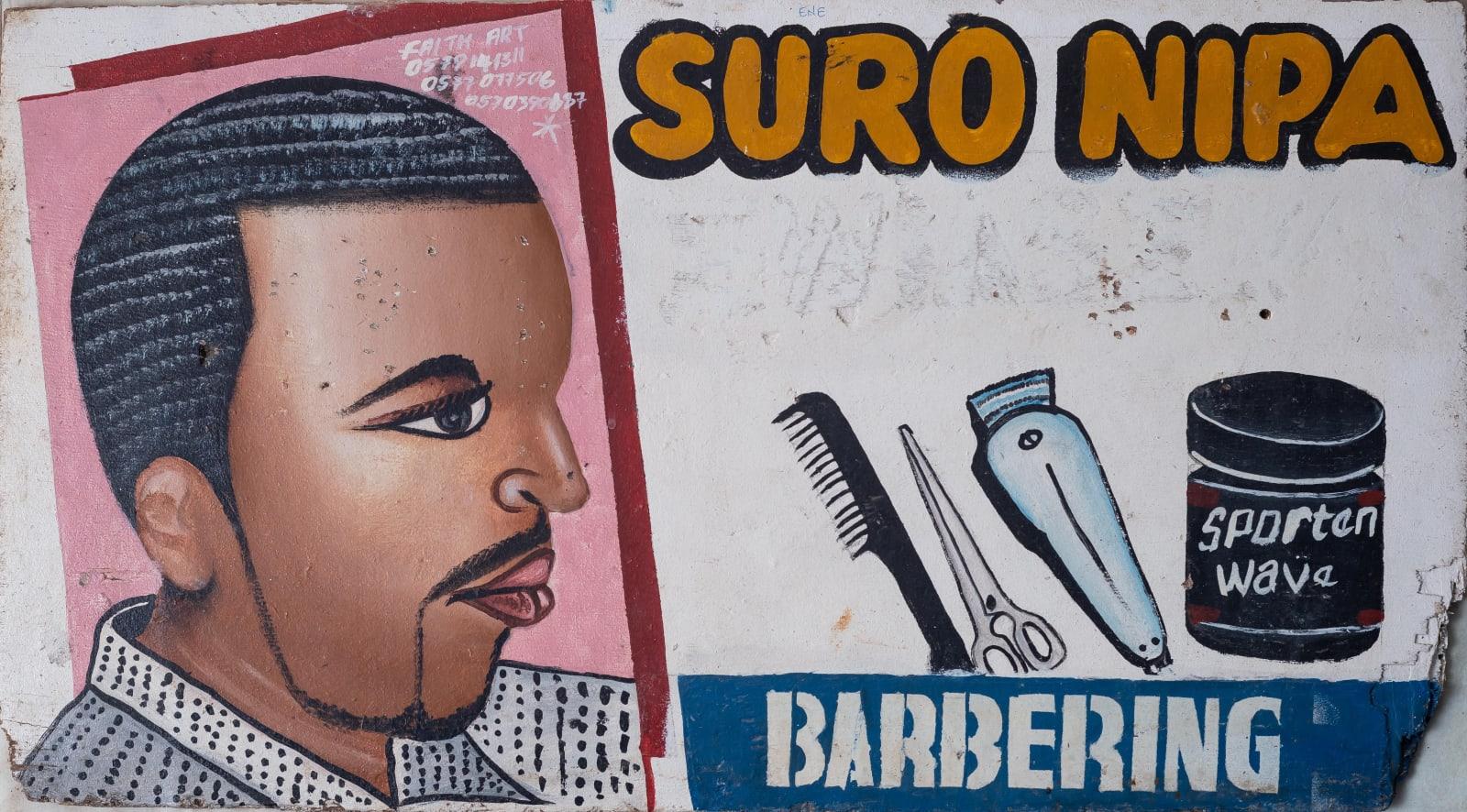 Suro Nipa Barbering 40 x 74 cm