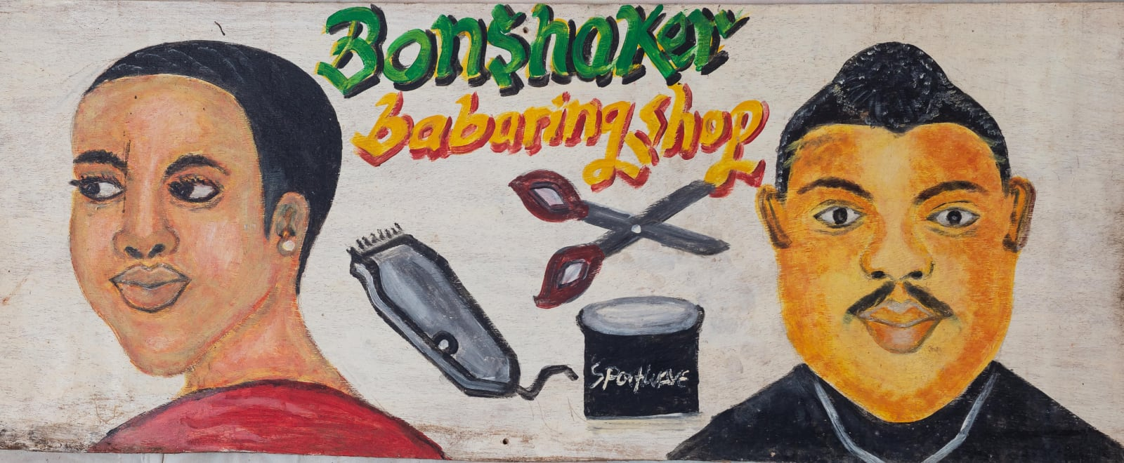Bonshaker Barbering Shop 36 x 91.5 cm