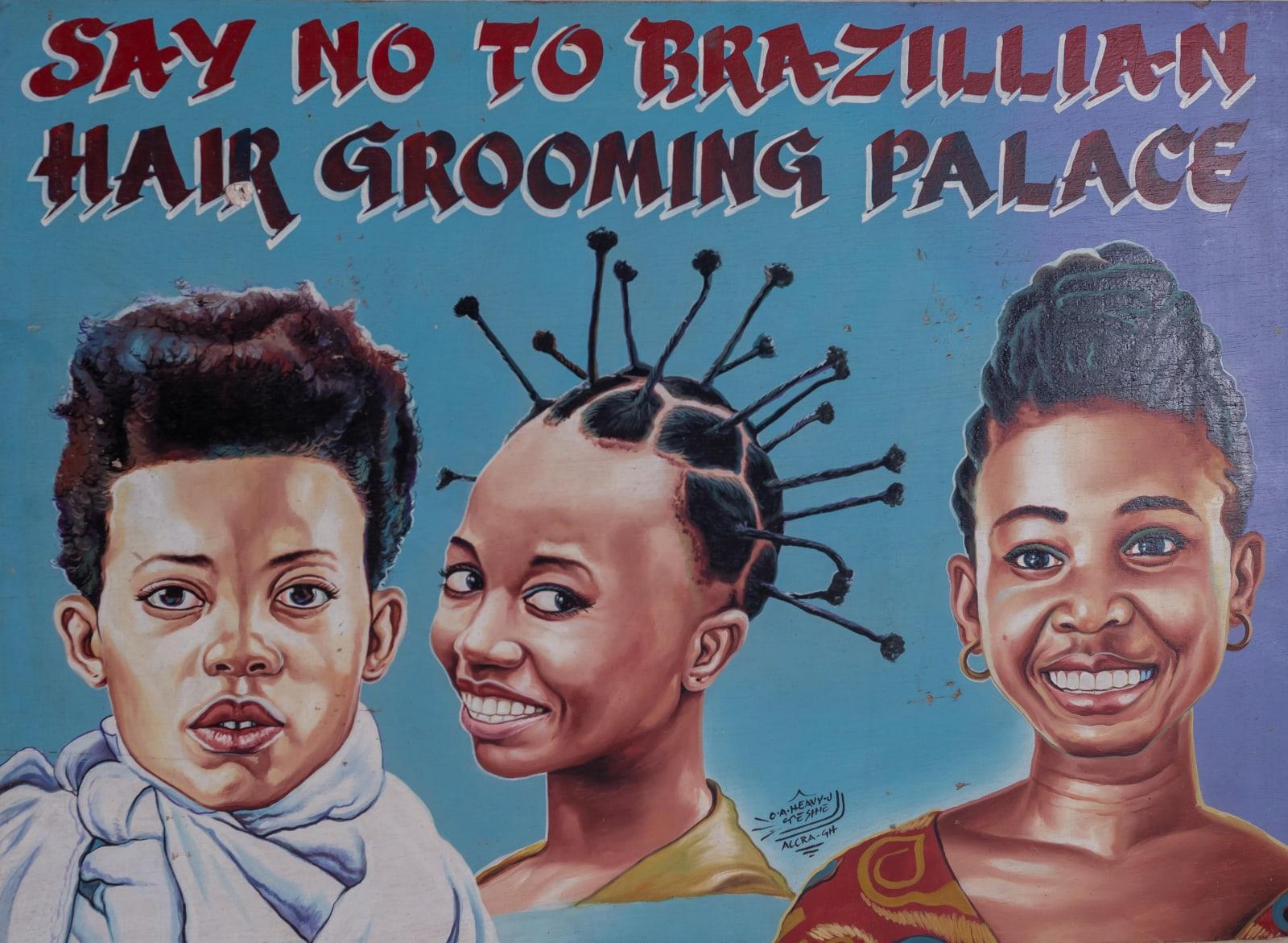 Say No to Brazilian Hair Grooming Palace 61.5 x 84 cm