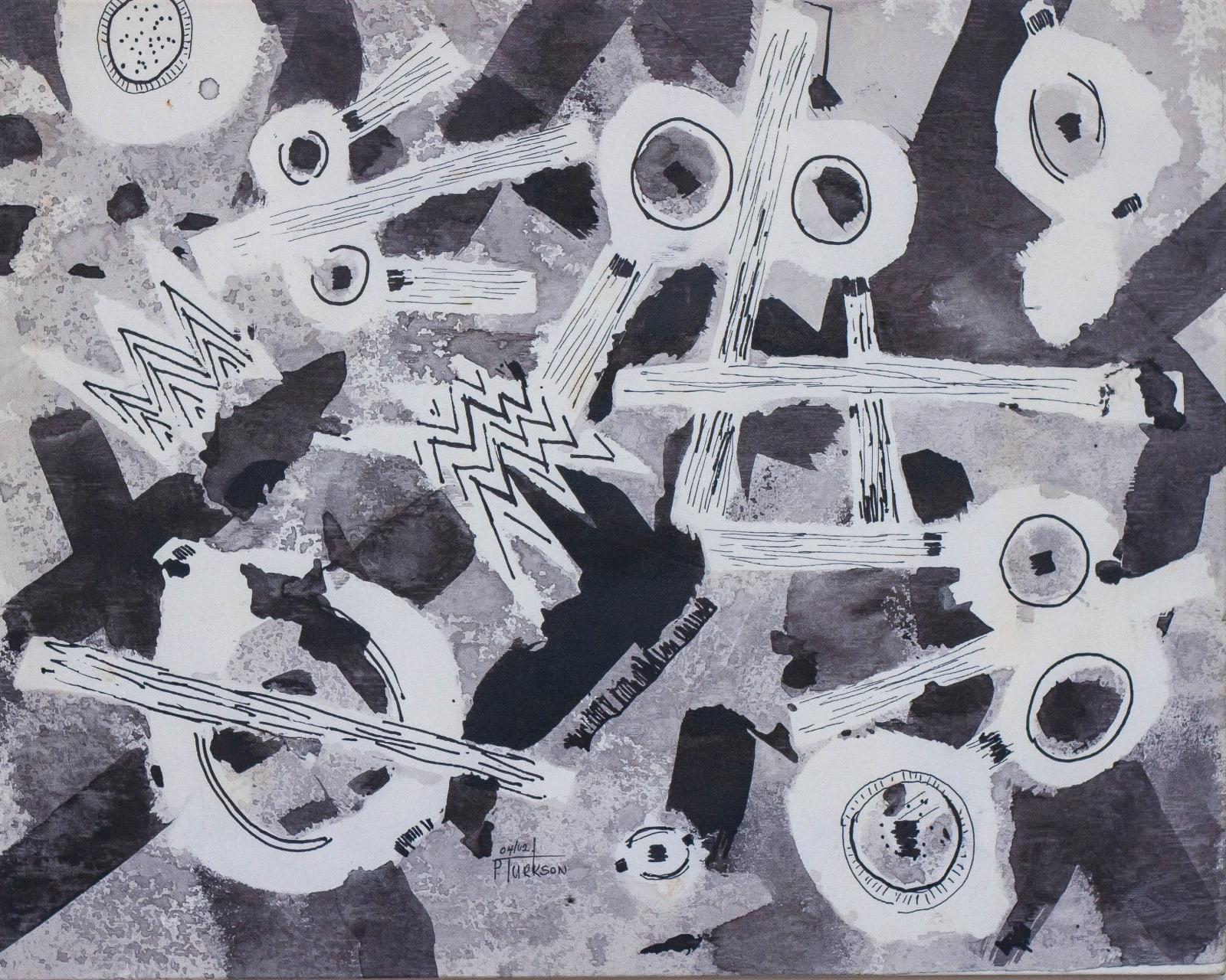 Patrick Tagoe Turkson Adomba (Bells) 64 x 84 cm Print