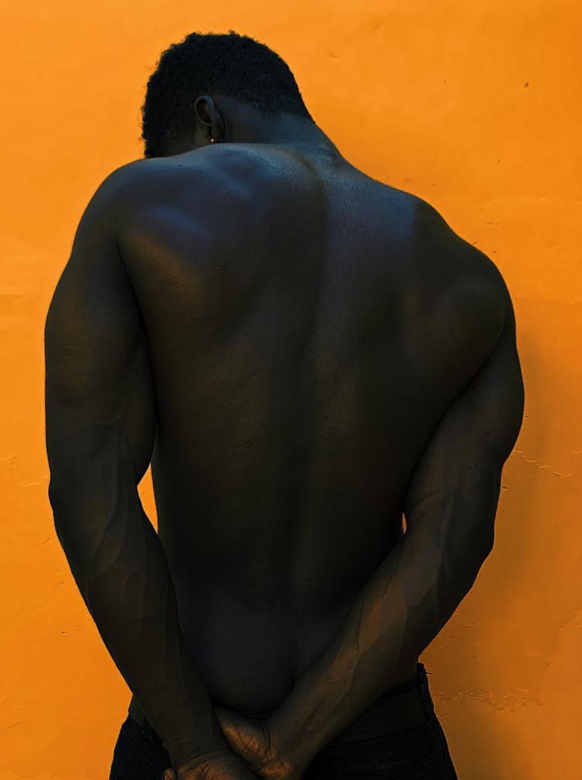 Joseph Abbey-Mensah Orange Chocolate 42 x 56.24 cm 29.7 x 39.81 cm 21 x 27.98 cm Digital print