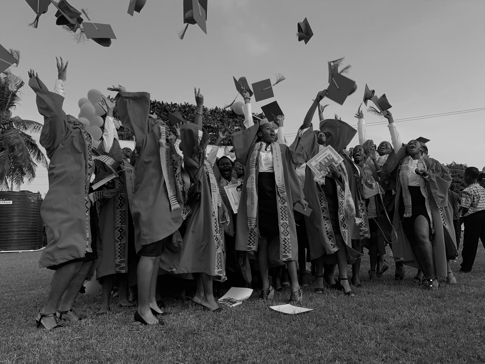 Yasmine Iddriss Graduation 28.08 x 21 cm 19.74 x 14.8 cm Digital print