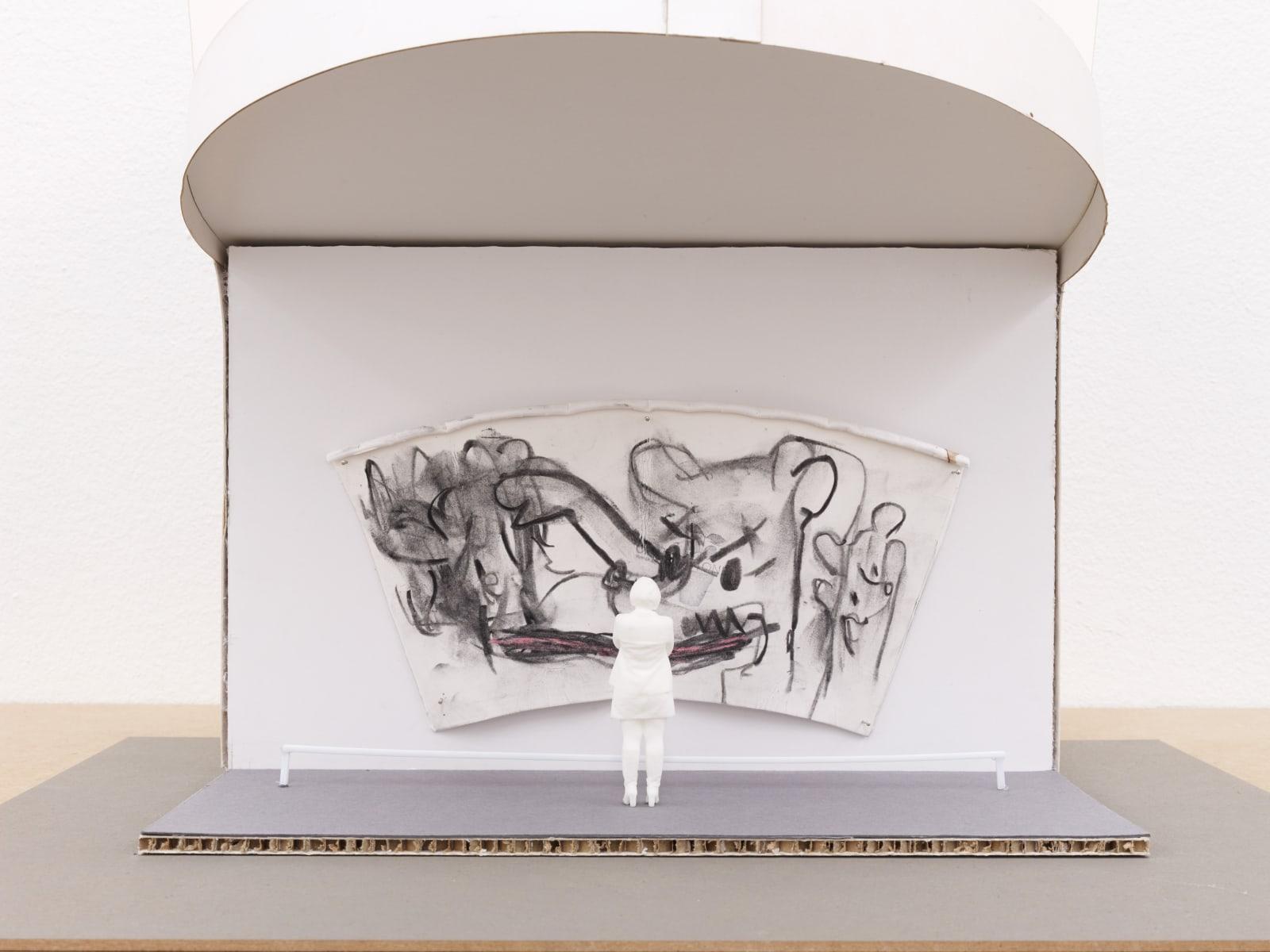 Who's Latte? (War), detail, 2021, sculptural video installation