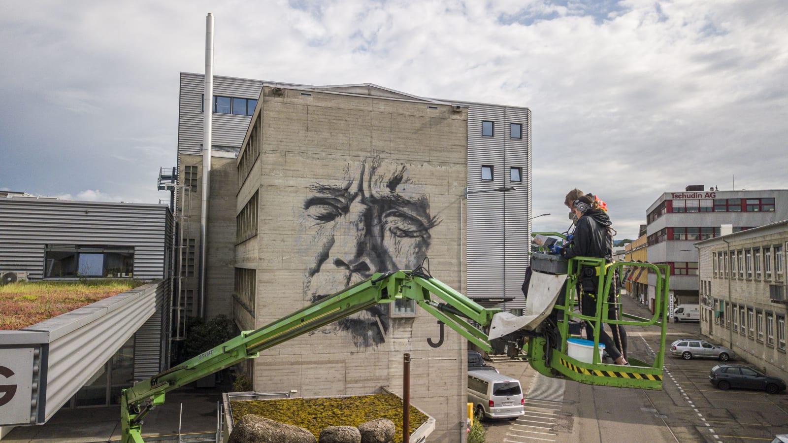 HENDRIK ECB BEIKIRCH (DE) | 2019 DREISPITZ, MÜNCHENSTEIN EVENT: ARTYOU WALLS'19