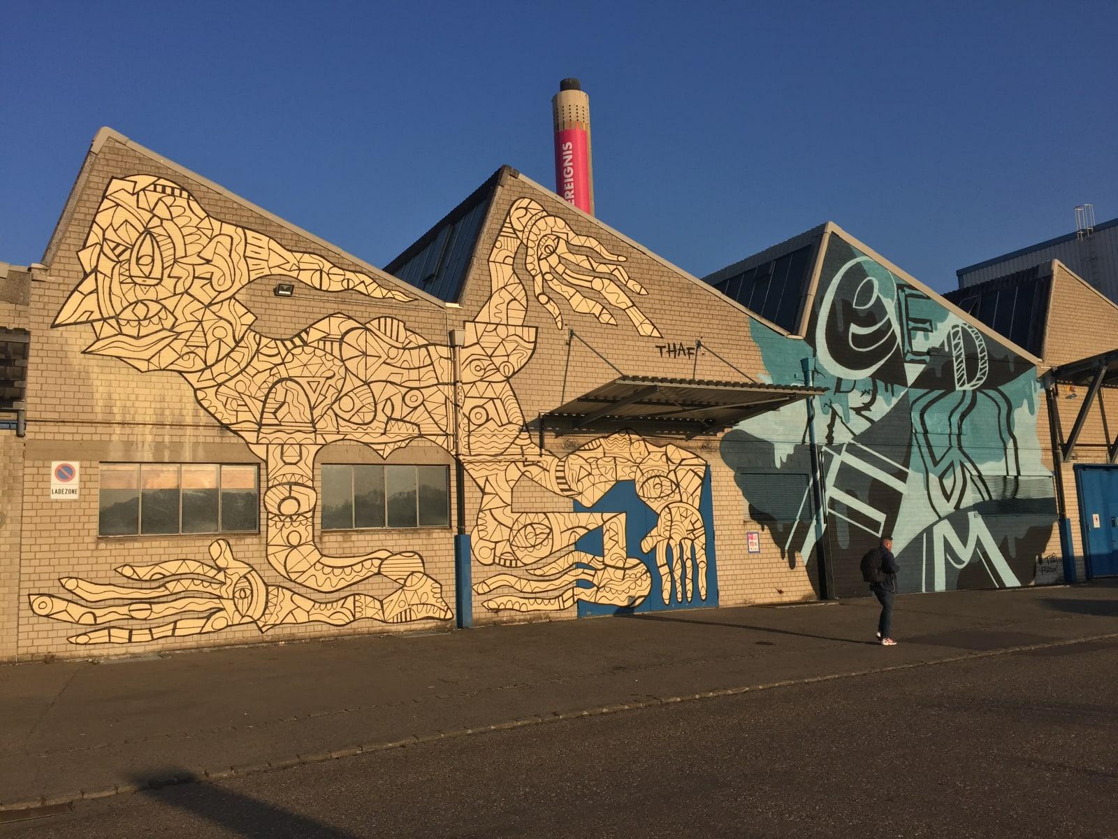 THAF | 2018 Rohrbogen Areal, Pratteln EVENT: Biennale Pratteln