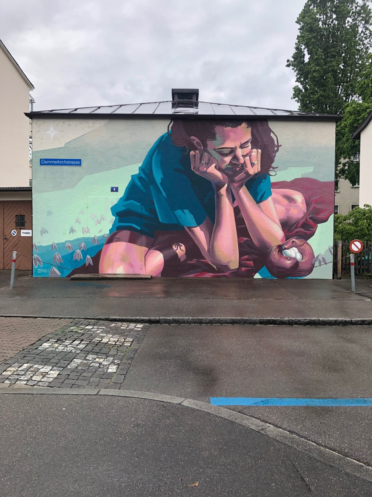 POLLO7   2019 Dammerkirchstrasse, BASEL AUFTRAGGEBER: IWB principal: iwb