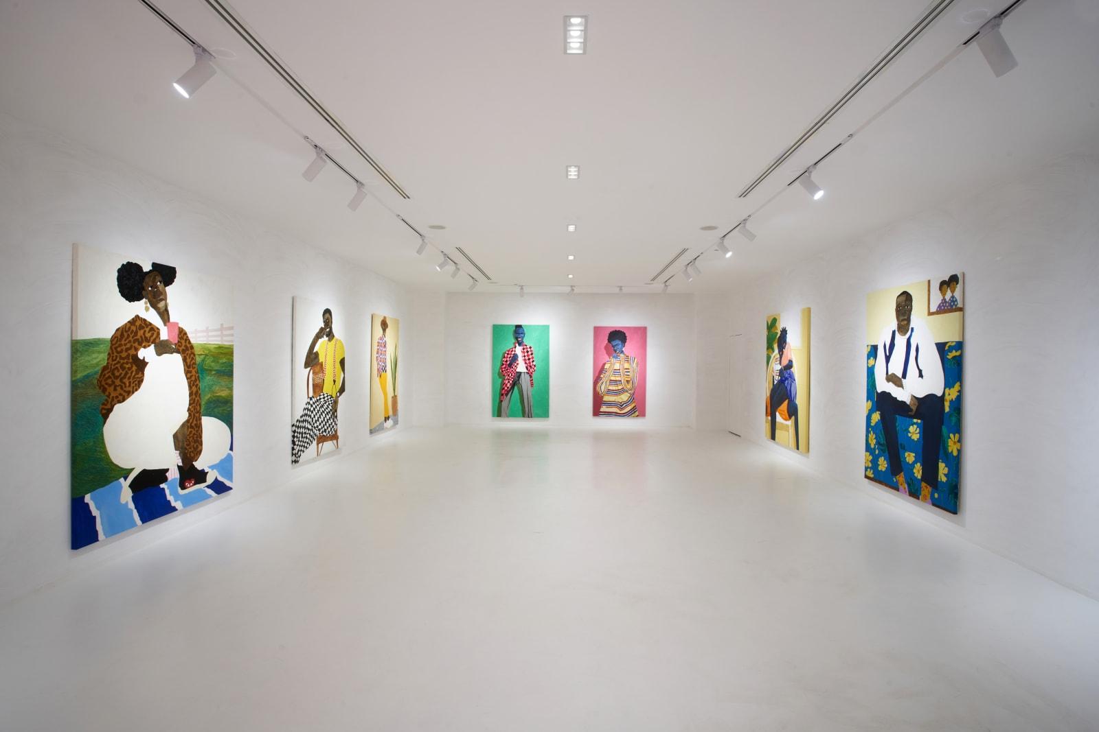 Adjei Tawiah & Aplerh-Doku Borlabi, Installation Shot, 2021