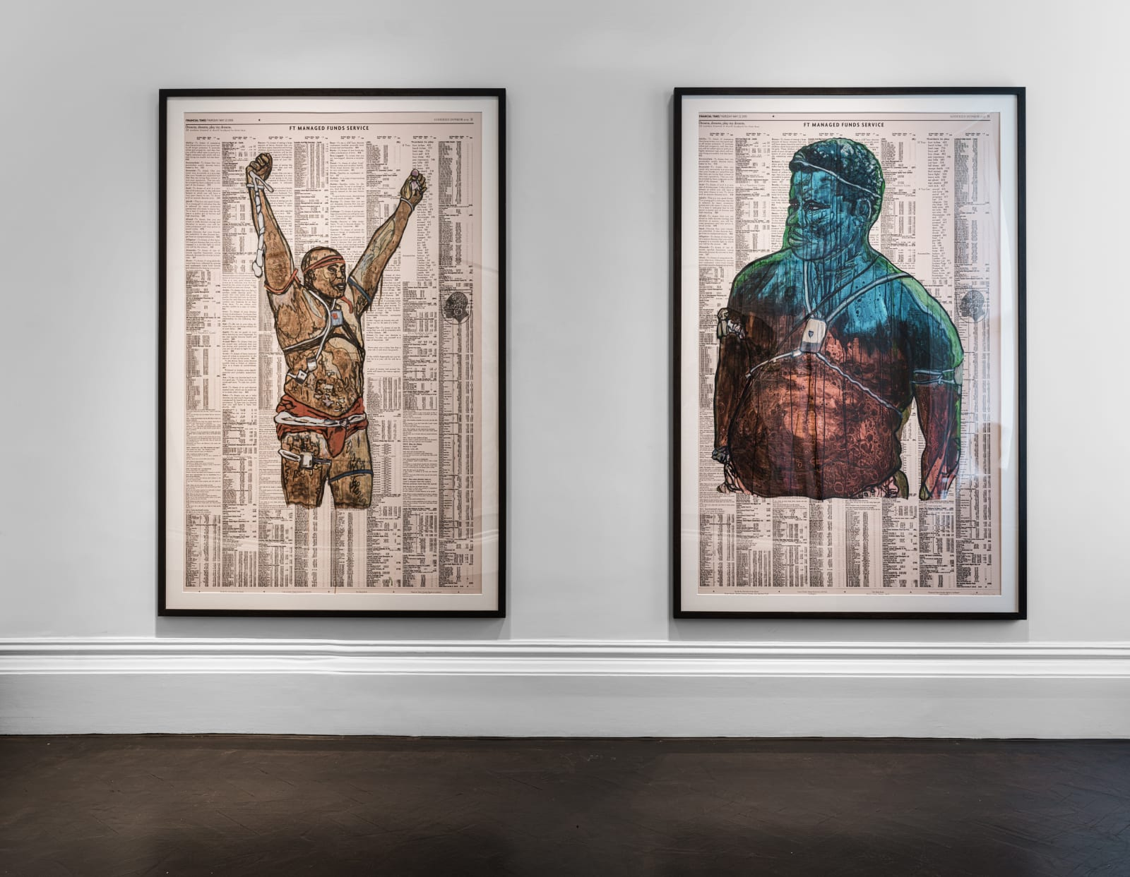 Godfried Donkor-A Collection of Works on Paper