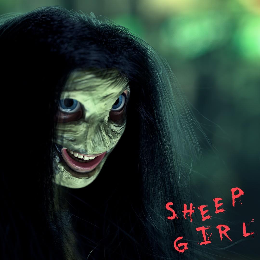 Ben Wheele, Sheep Girl, 2021 Bid on OpenSea