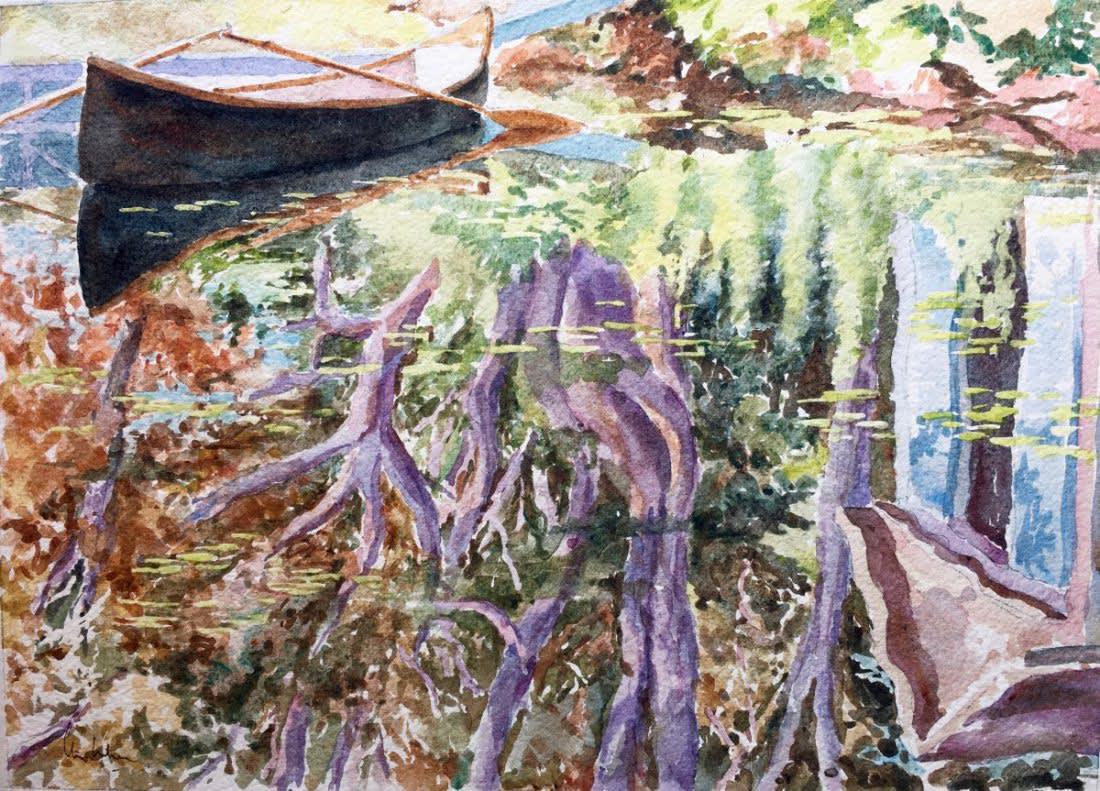 957 Deep reflections, Silver Lake