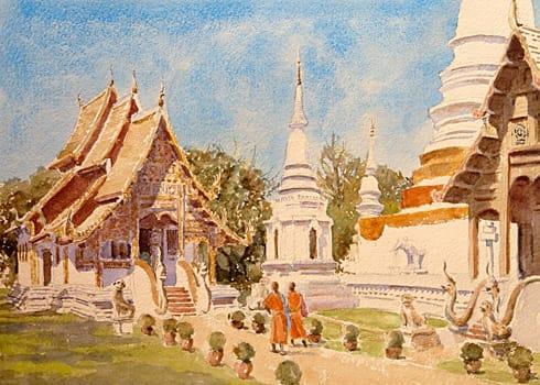 877 Wat Phra Singh, Chiang Mai