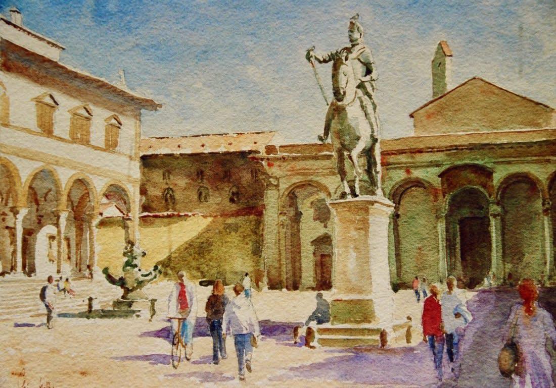 781 Piazza SS Annunziata - pigeon fancier