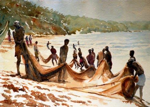 624 Dance of the fishing nets