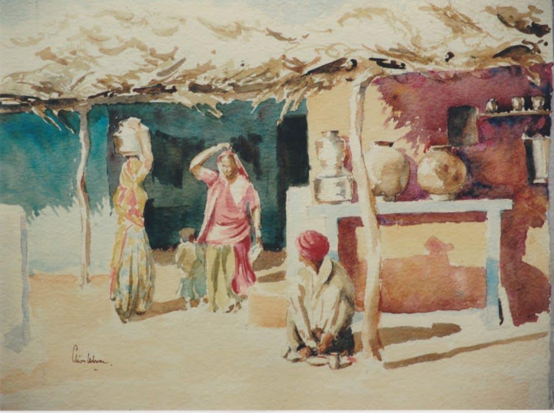 661 Brahmin village interior (2)