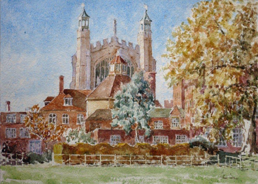 956 College Chapel, Autumn colours