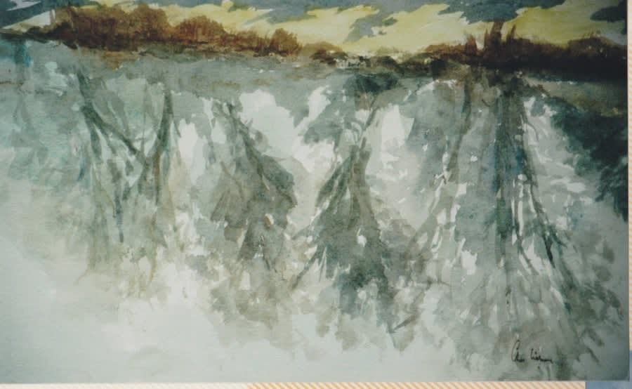 588 Kintbury Canal - spring morning II