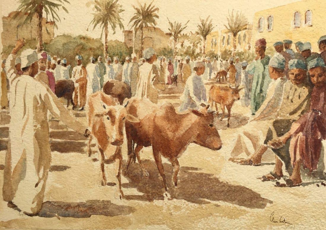 1000 Cattle market, Nizwa, Oman II