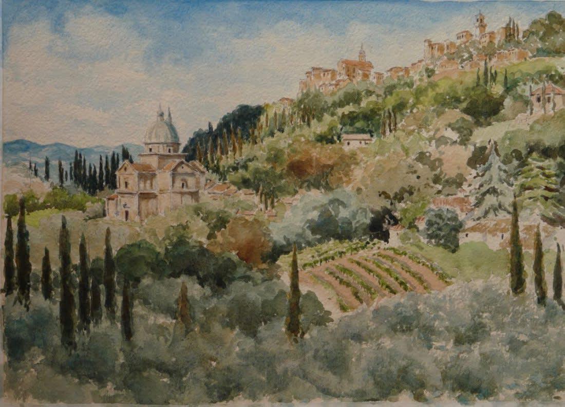882 San Biagio and Montepulciano