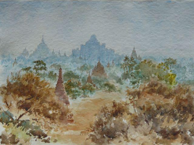 927 Bagan sunrise