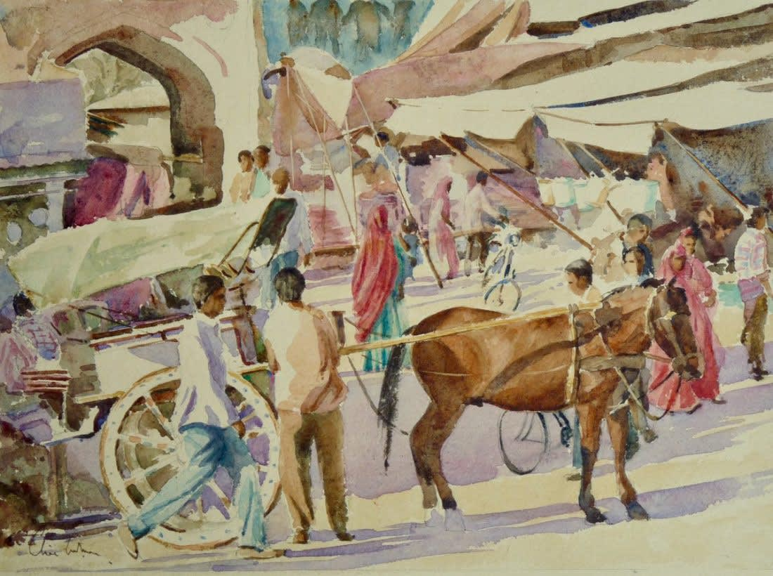 680 Clock tower market, Jodhpur