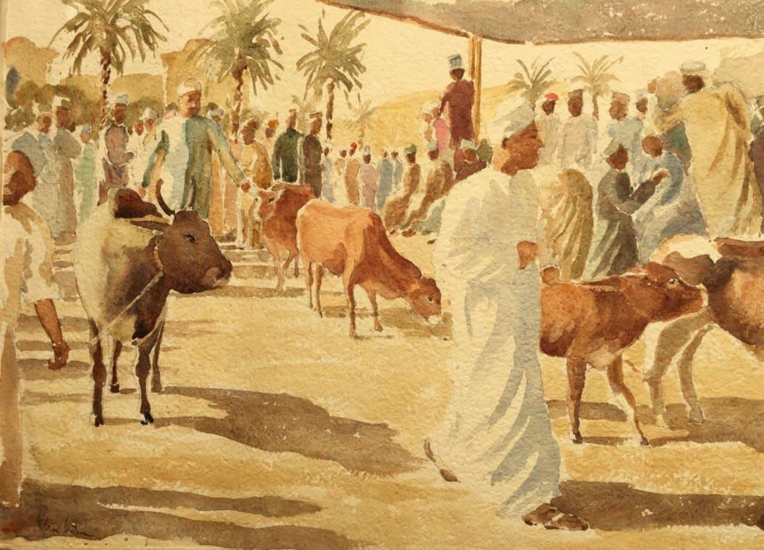 1001 Cattle market, Nizwa, Oman III