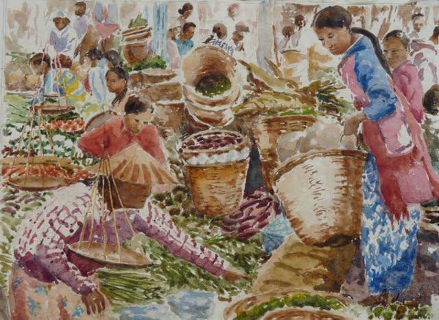 933 Vegetables, Nampan Market