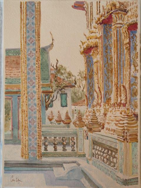 869 Wat Ratchaborpit, Bangkok I