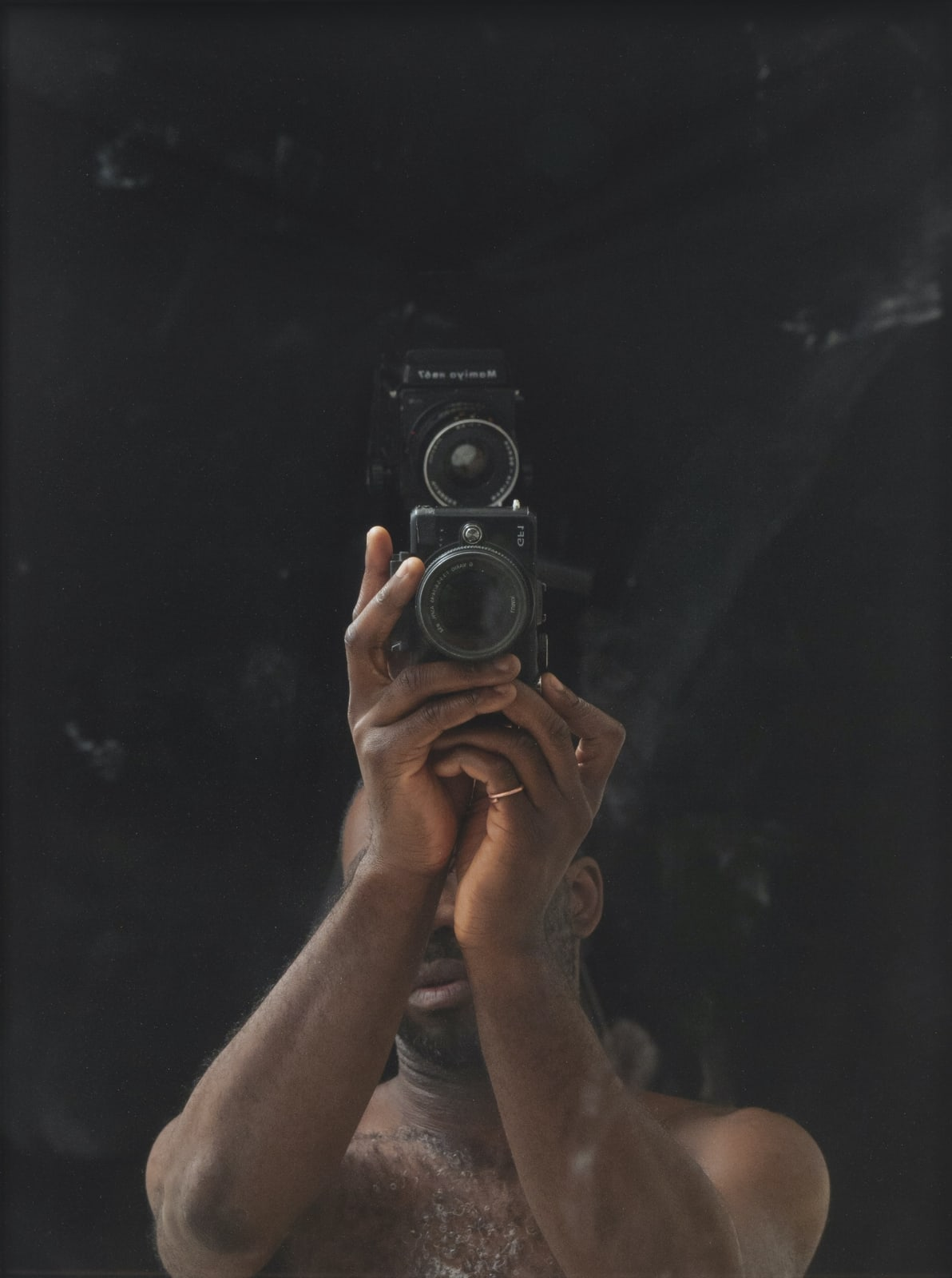 Paul Sepuya Drop Scene, 2018