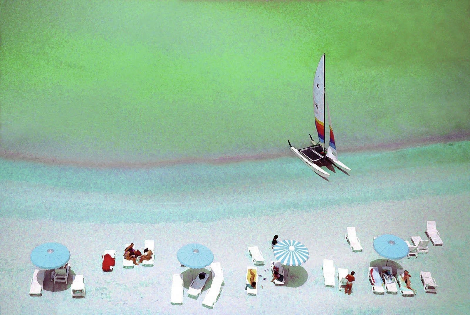 Alain Lacki, La plage, 2006