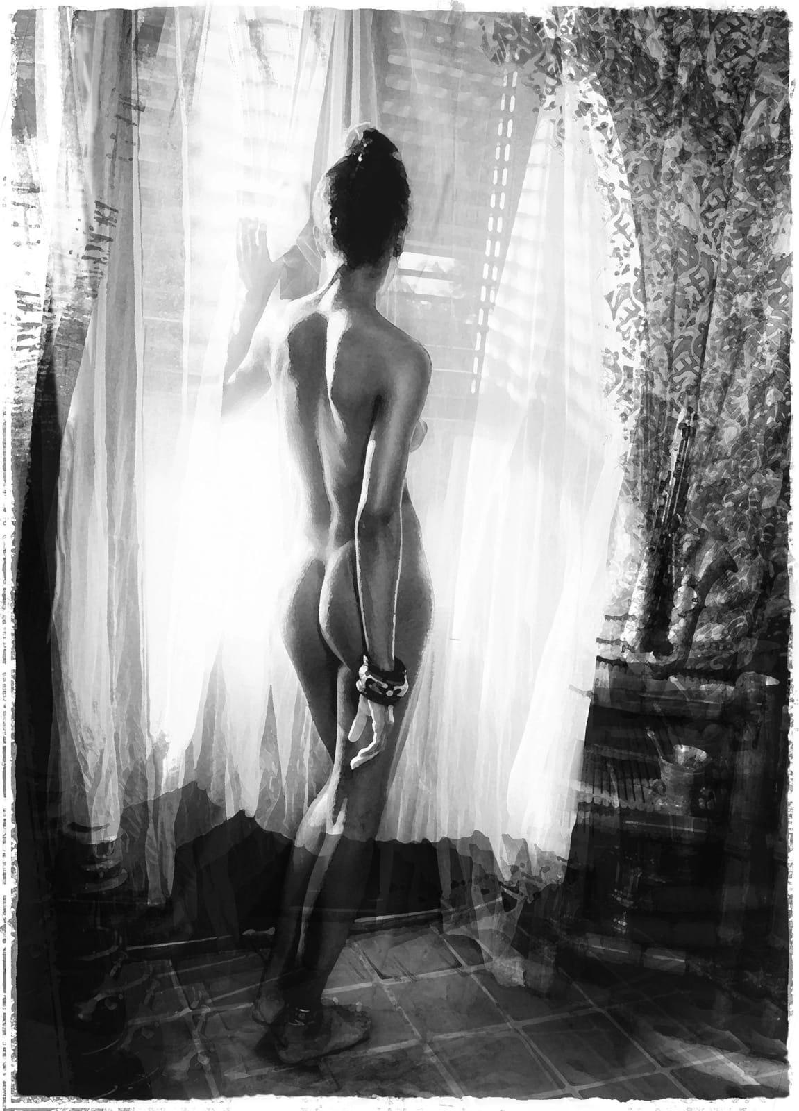 Alain Lacki, Nu à la fenêtre, 2003