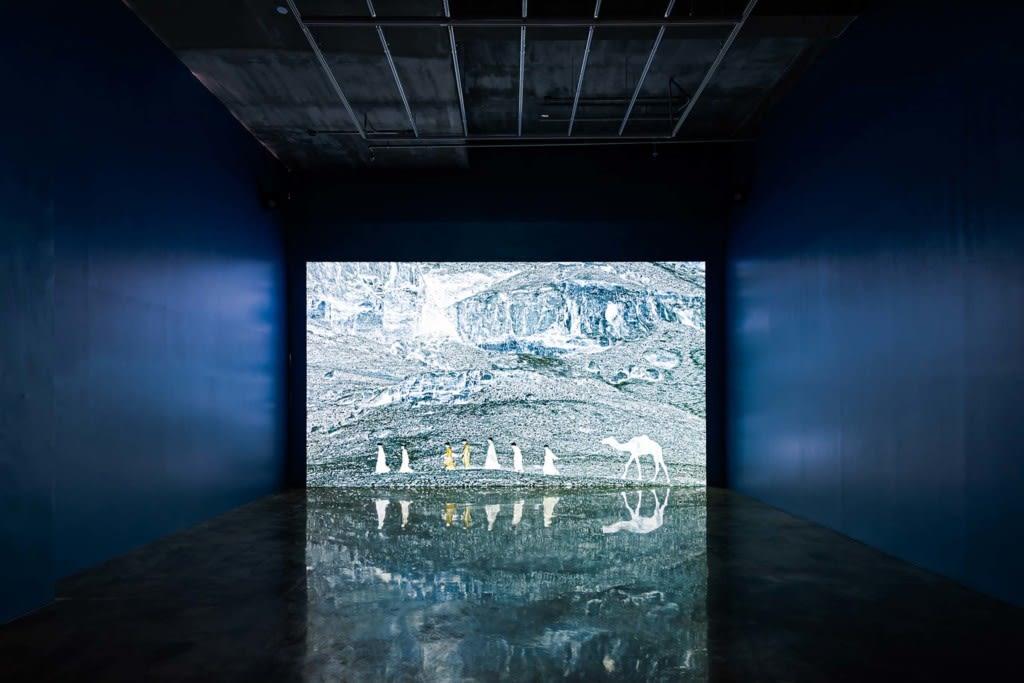 Al Araba Al Madfuna, 2019, Installation View, Barakat Contemporary